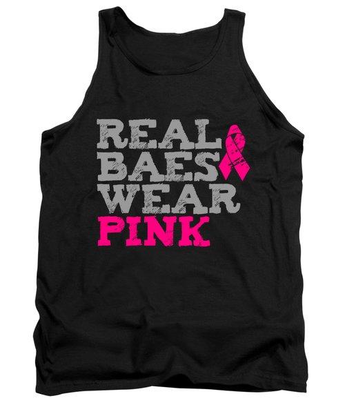 Real Baes Wear Pink Tank Top