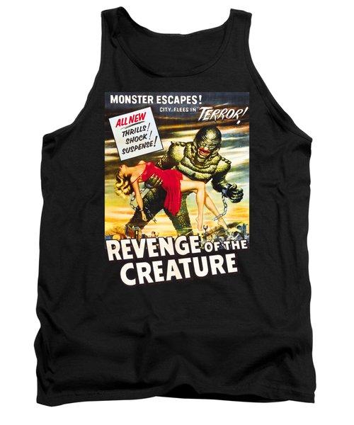 Revenge Of The Creature Movi Poster Tank Top