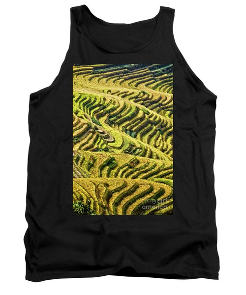 Rice Terraces In China Tank Top