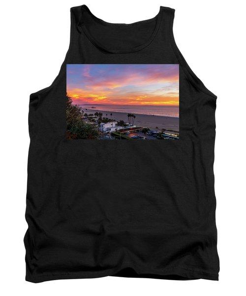 Santa Monica Pier Sunset - 11.1.18  Tank Top