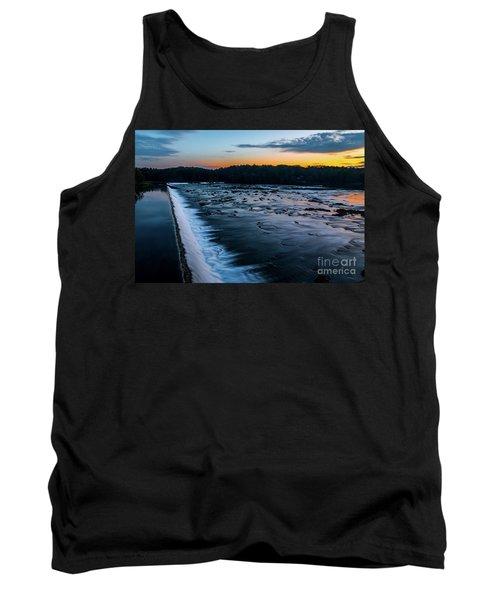 Savannah Rapids Sunrise - Augusta Ga Tank Top