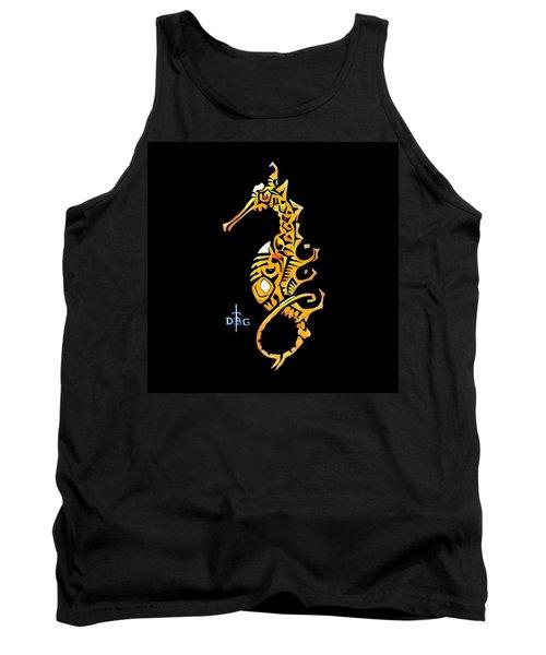 Seahorse Golden Tank Top