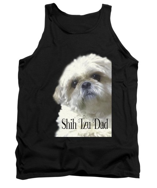 Shih Tzu For Dad Tank Top