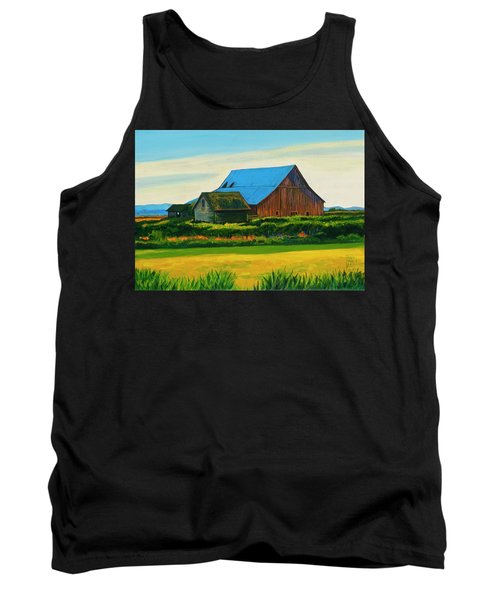 Skagit Valley Barn #4 Tank Top