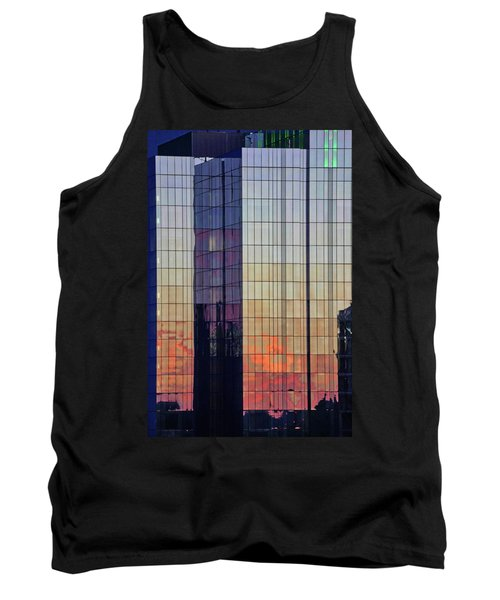 Skyscraper Sunset Tank Top