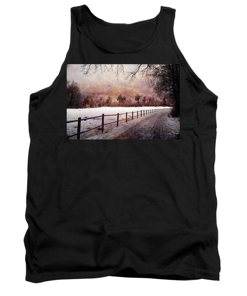 Tank Top featuring the photograph Sounds In The Paddock by Randi Grace Nilsberg