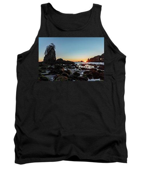 Sunburst At The Beach Tank Top