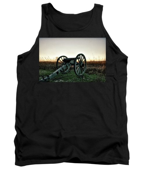 Sunset In Defense Tank Top