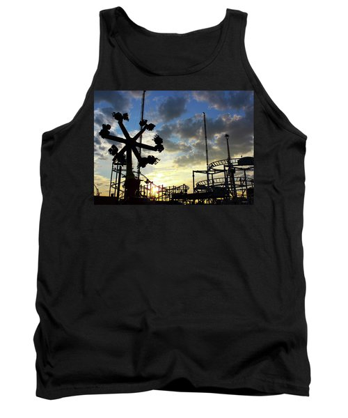 Sunset On Coney Island Tank Top