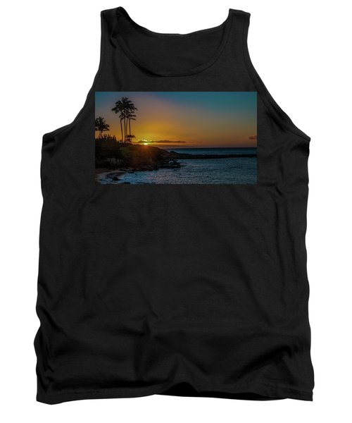 Sunset On Kapalua Tank Top