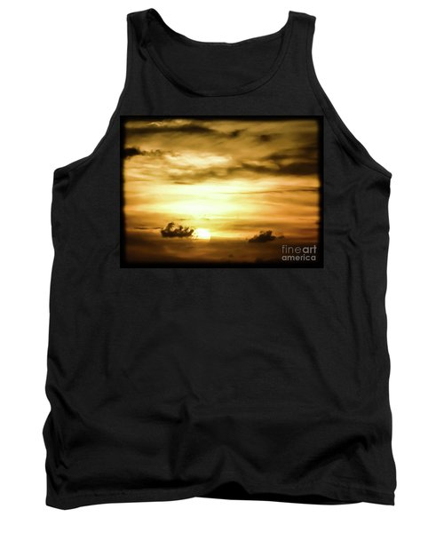 Sunset On The Pacific Ocean Tank Top
