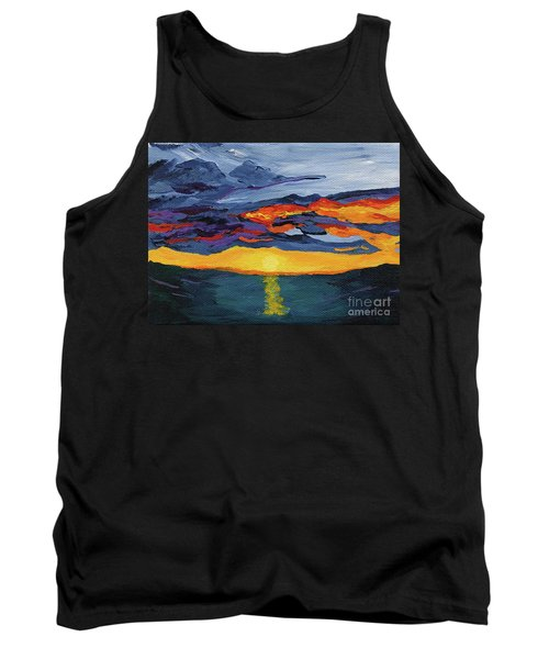 Sunset Streak Tank Top