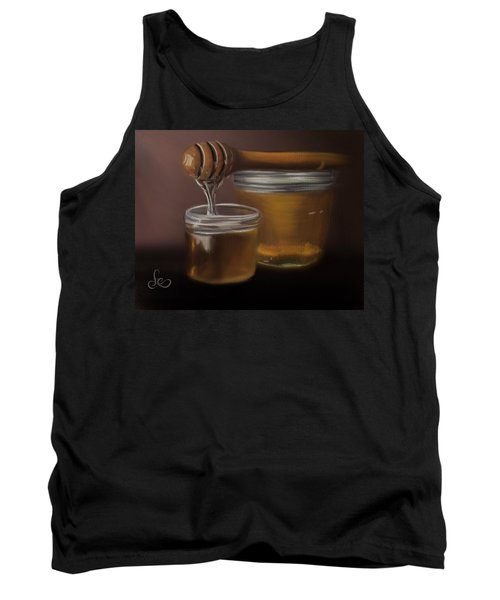Tank Top featuring the painting Sweet Honey by Fe Jones