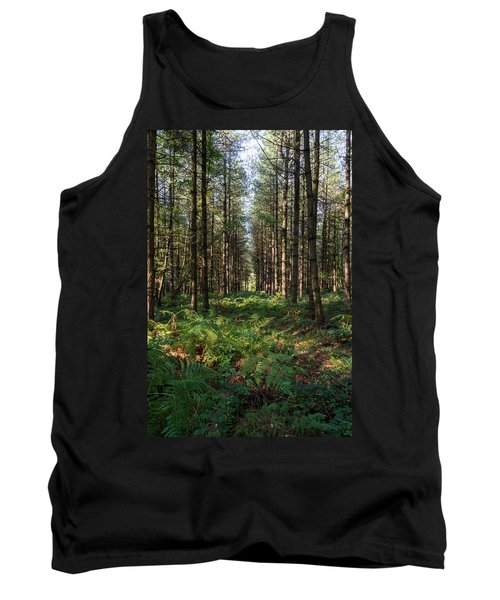 Tall Trees In Sherwood Forest Tank Top