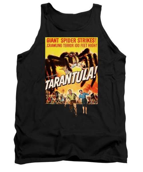 Tarantula Movie Poster Tank Top
