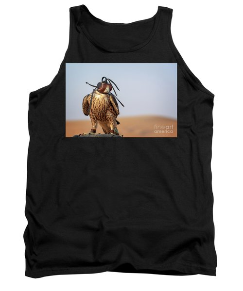 The Art Of Falconry Tank Top
