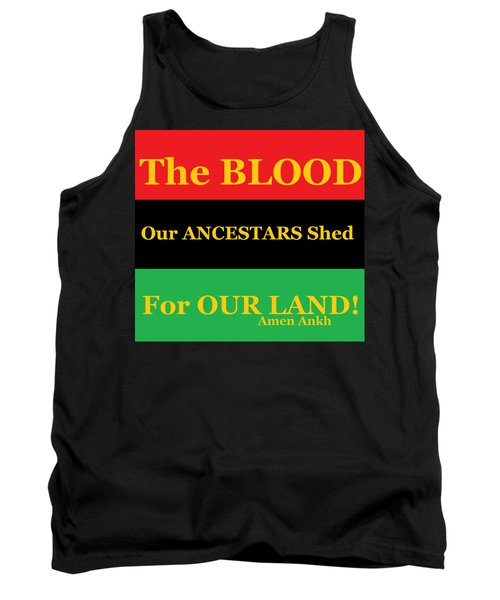 The Blood Tank Top