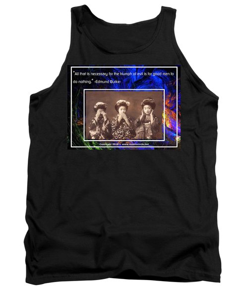 The Mystic Circle Inspirational Series One Five Tank Top