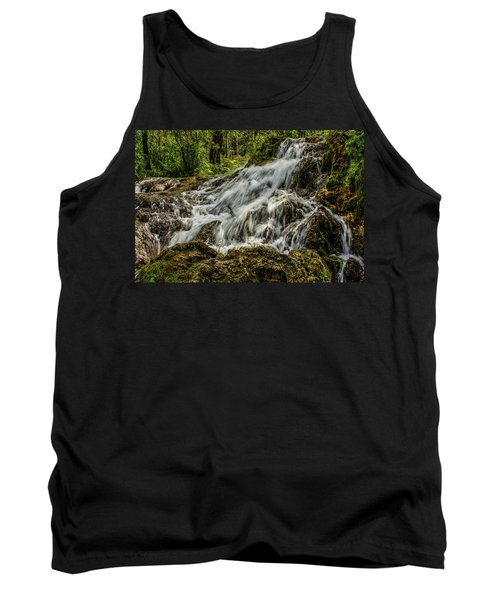 The Springs In It's Summer Green, Big Hill Springs Provincial Re Tank Top