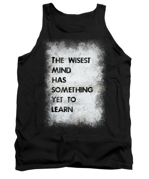 The Wisest Mind Tank Top