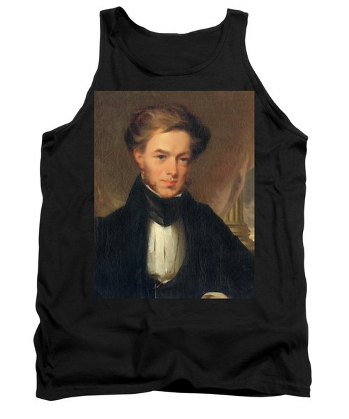 Portrait Of Thomas Ustick Walter, 1835 Tank Top