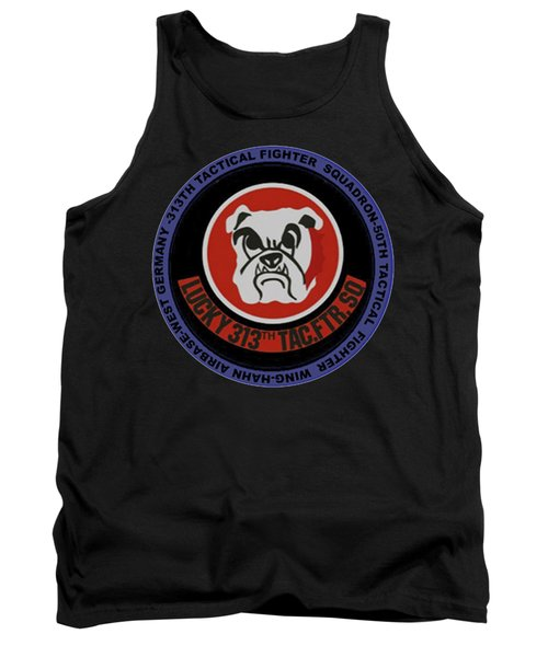 The 313th Tactical Fighter Squadron Tank Top
