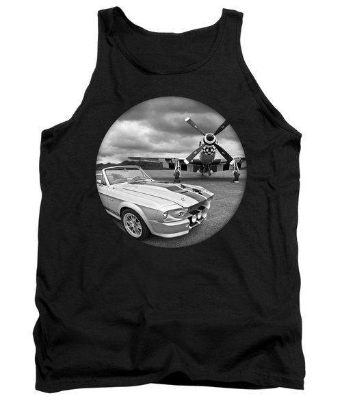 Time Portal - Mustang With P-51 Tank Top