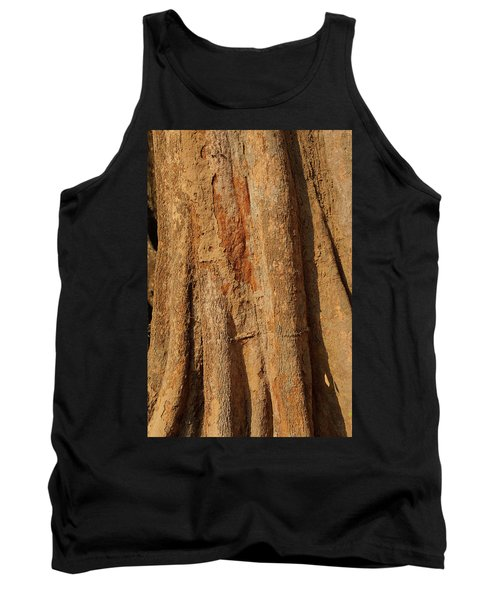 Tree Trunk And Bark Of Chambak Tank Top