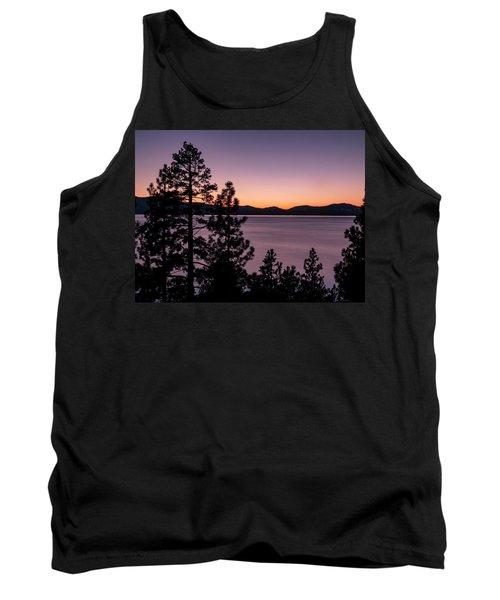 Twilight At Lake Tahoe Tank Top