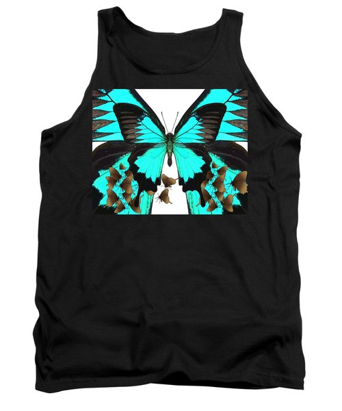 U Is For Ulysses Butterfly Tank Top