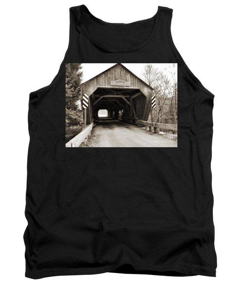 Union Village Covered Bridge Tank Top