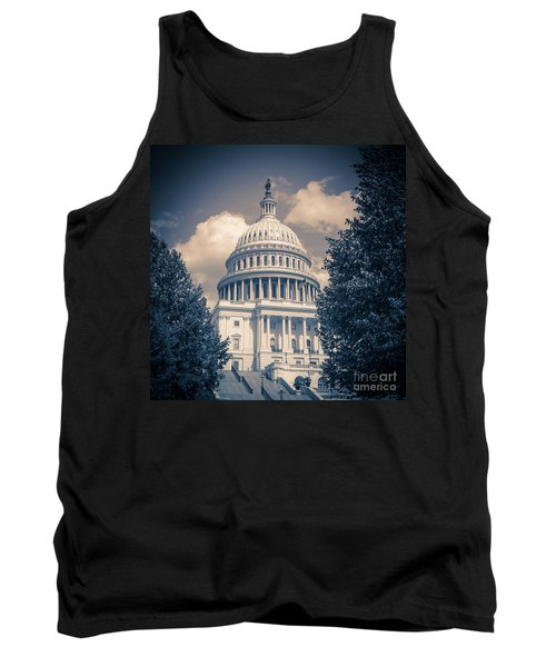 United States Capitol Building Washington Dc 1 Tank Top