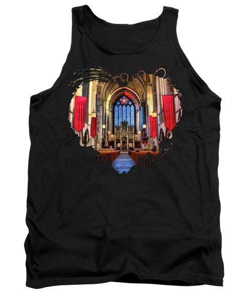 University Of Chicago Rockefeller Chapel Tank Top