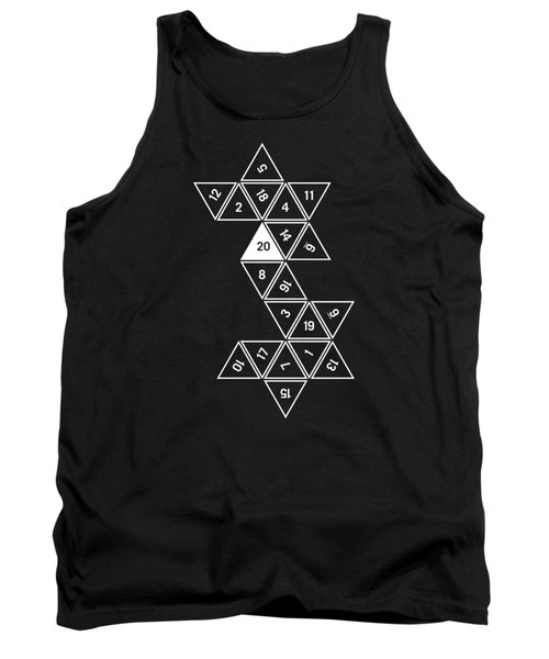 Unrolled D20 Tank Top