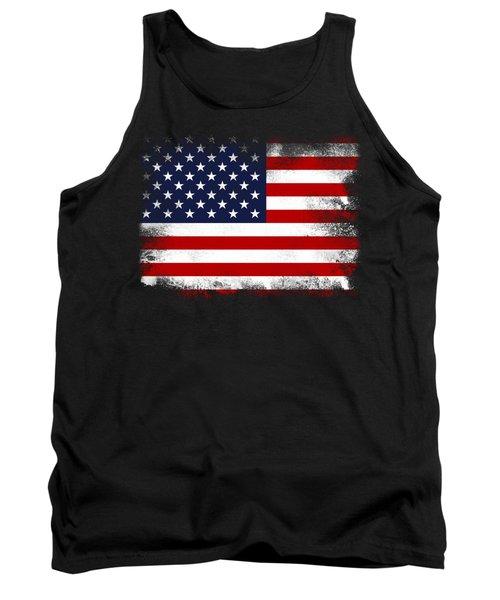 Us Flag Tank Top