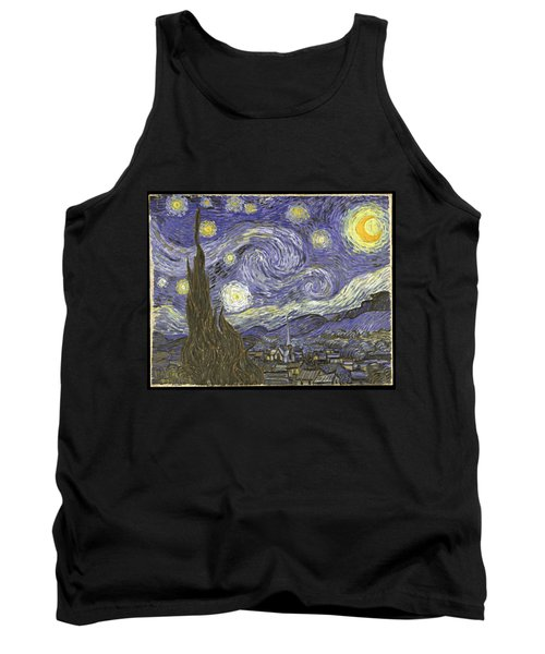 Van Goh Starry Night Tank Top