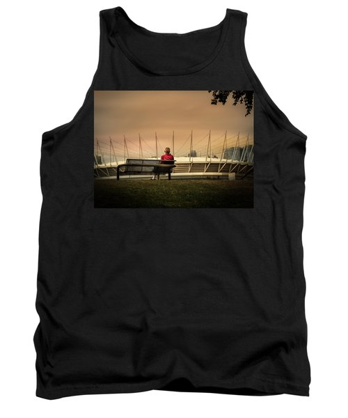 Vancouver Stadium In A Golden Hour Tank Top