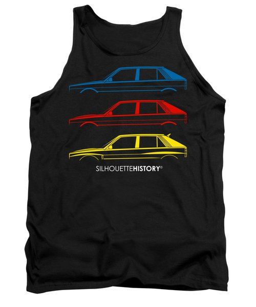 Vincenzo Compact One Silhouettehistory Tank Top
