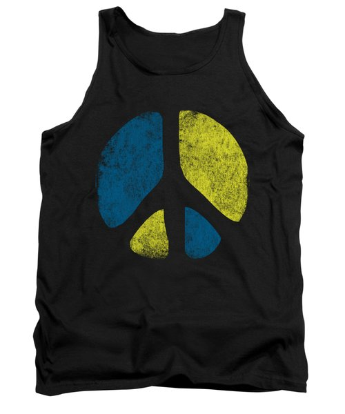 Vintage Peace Sign Tank Top