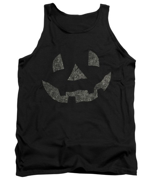 Vintage Pumpkin Face Tank Top
