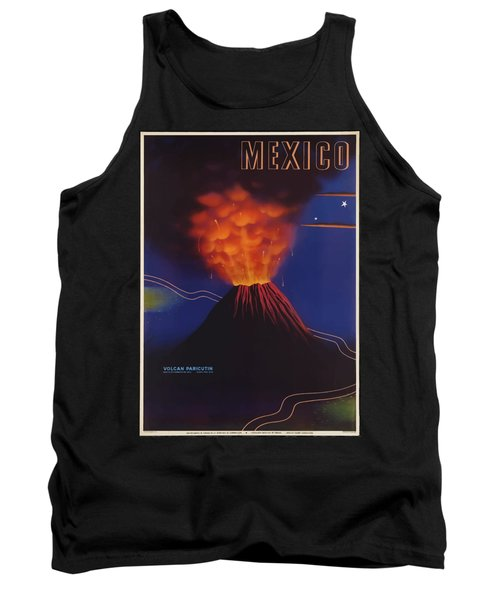 Vintage Travel Poster - Mexico Tank Top