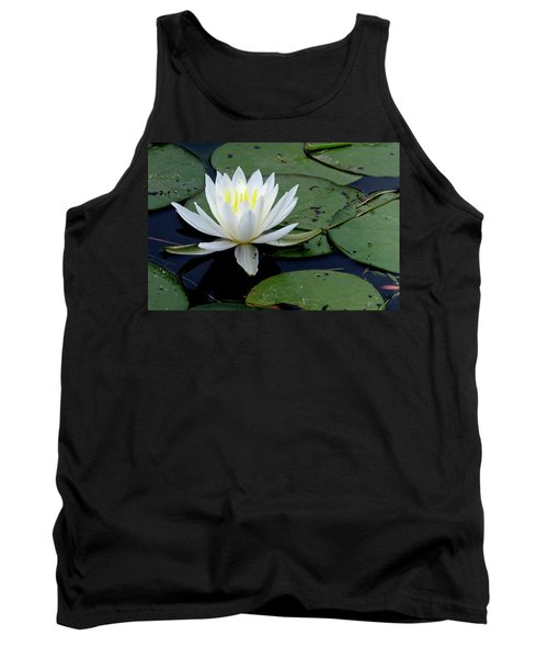 White Water Lilly Tank Top