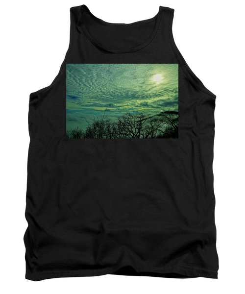 Winter Clouds Tank Top