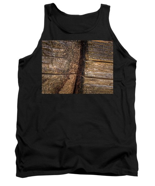 Wooden Wall Tank Top
