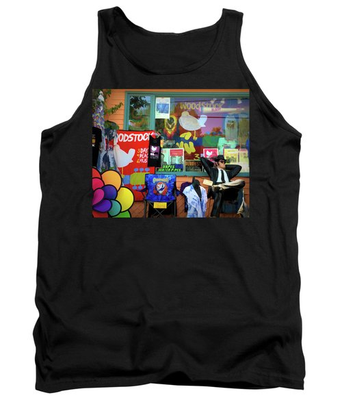 Woodstock Peace And Love 3 Tank Top
