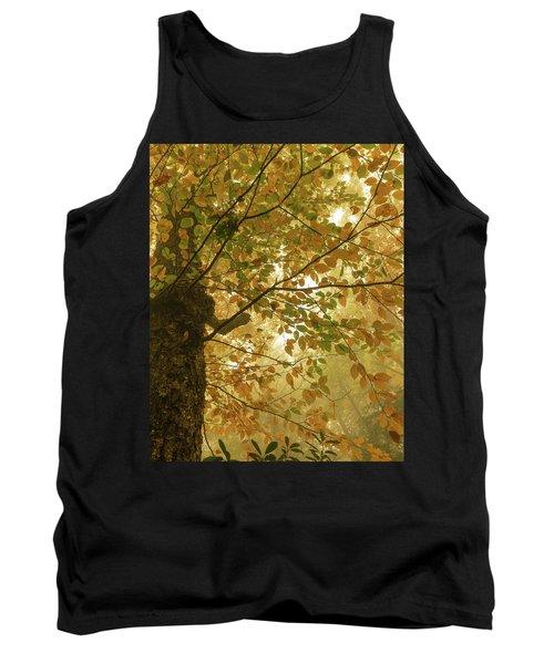 Yellow Fall Leaves - Blue Ridge Parkway Tank Top