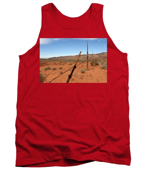 Tank Top featuring the photograph  Don't Fence Me In by Tammy Espino