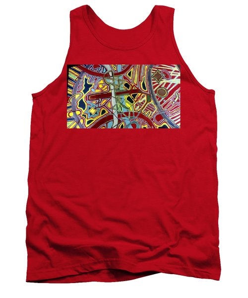 Tank Top featuring the painting  Edge Of The Universe by Jonathon Hansen