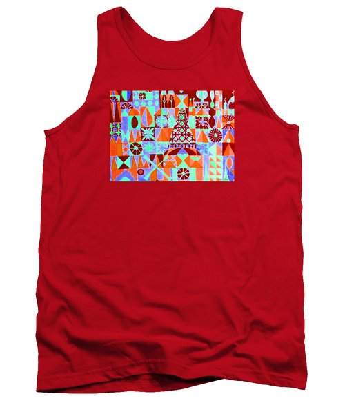 Tank Top featuring the painting  Fortress by Beth Saffer