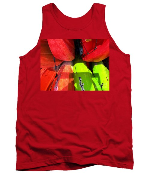 Kayaks Tank Top by Michelle Meenawong